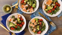 How To Make Charred Shrimp & Pesto Buddah Bowl