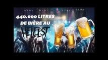 Au Hellfest, les festivaliers ont bu 440.000 litres de bière