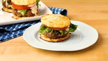 How to Make Classic Beef Burgers with Cauliflower Buns