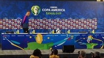 Colombia talk ahead of quarter-final against Chile