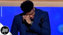 Scottie Pippen reacts to Giannis' MVP speech: 'Touching' and 'amazing' - The Jump