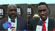 Shaq, Charles Barkley, Pascal Siakam headline the red carpet of the 2019 NBA Awards - Now or Never