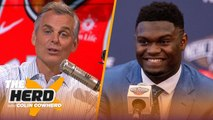 Colin makes his case for Zion being a superstar - Kawhi staying in Toronto - NBA