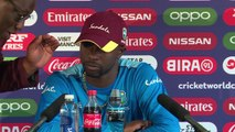 West Indies Kemar Roach post India loss