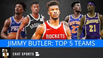 NBA Free Agency: 5 Teams That Can Sign Jimmy Butler In 2019 Feat. Rockets, Lakers, Nets - Knicks
