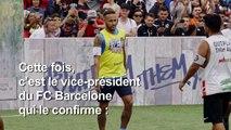 """ARCHIVES: Transfert: """"Neymar veut revenir"""" à Barcelone"""