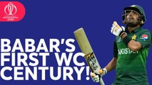 Babar Azam Completes his First World Cup Century- - ICC Cricket World Cup 2019