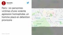 Agression homophobe contre six hommes en plein Paris