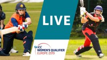 LIVE CRICKET: ICC Women's Qualifier Europe 2019 - Netherlands vs Germany. Match starts 10.30 CET