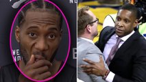 "KAWHI LEONARD ON JOINING CLIPPERS ""I WANT THE MAX"" - MASAI UJIRI PROOF PUNCHING POLICE-"
