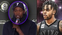 Kevin Durant SIGNING WITH NETS- - D'angelo Russell TO TIMBERWOLVES- Kyrie JOINING DURANT - MORE-