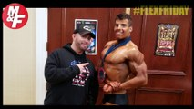 Bodybuilder Nick Piombino Breaks Down His Back Workout | FLEX Friday