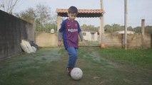 Un jeune brésilien rêve de devenir le futur lionel messi
