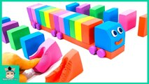 How to Make a Kinetic Sand Truck Vehicles Cars. Learn Color Nursery Rhymes Songs - MariAndToys