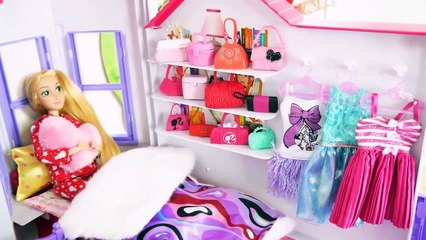 Steffi Love My Dream House for Barbie Size Dolls Neues Puppenhaus Maison de poupée بيت الدمية | Karla D.