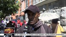 Colombian Refugees Demand Relocation