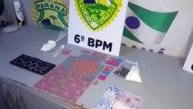Choque detém casal com porções de cocaína, maconha, LSD e ecstasy em Cascavel