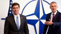 U.S. Defense Chief Looks To Rally NATO As Tensions With Iran Simmer