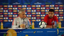Chile talk ahead of quarter-final against Colombia