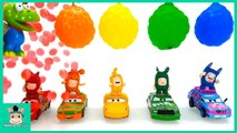 Disney Cars3 Mcqueen Learn Colors with Rainbow Orbeez Colorful Balloon Toys for Kids - MariAndToys