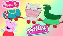 Création Petit Train Peppa Pig en Pâte à Modeler Play Doh