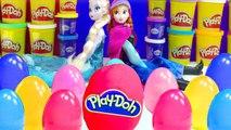 Poupées Elsa et Anna La Reine des Neiges Oeufs Surprise Play Doh Peppa Pig Hello Kitty