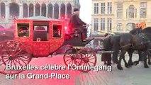 Bruxelles célèbre l'Ommegang, fête médiévale en l'honneur de Charles Quint