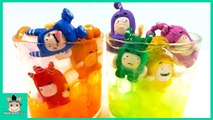Learn colors with Oddbods Toys and Water Pool. Crystal Orbeez Play for kids car toys - MariAndToys