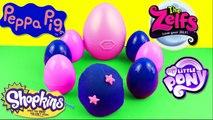 Oeufs Surprise Play-Doh avec des Jouets Peppa Pig - Surprise Eggs with Peppa Pig Toys-