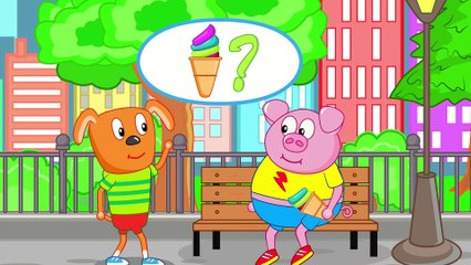 Puppy Dog Family ICE CREAM FOR HONESTY Funny Cartoon for Kids