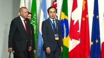 Cumhurbaşkanı Erdoğan, G20 Liderler Zirvesi'nde - OSAKA