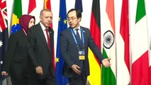 Cumhurbaşkanı Erdoğan, G20 Liderler Zirvesi'nde