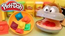 Singe Dentiste Thomas Plat Géant de Raviolis Colorés Play Doh