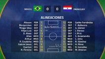 Resumen partido entre Brasil y Paraguay Jornada 1 Copa América