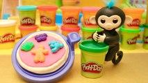 Lucas Singe Magique Fingerlings Pizza Géante Dessert Bonbons Play Doh