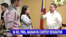 DAS Sec. Piñol, naghain ng courtesy resignation