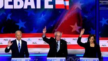 Iowa watch parties' reaction to Democratic debate's second night