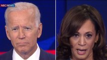 Harris confronts Biden over race at Democratic debate