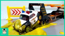 Cars toys videos for kids. Disney CARS3 McQueen rescue for children Learn Colors Play - MariAndToys