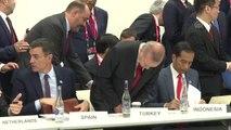 """G20 Liderleri """"Dijital Ekonomi"""" oturumunda buluştu (1)"""