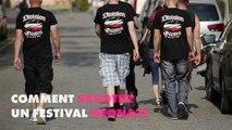 Des citoyens allemands contre un festival néo-nazi