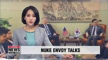 Seoul and Washington's nuclear envoys prepare for their leaders' denuke talks