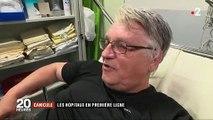 Spéciale Canicule : Dans les hôpitaux de plus en plus de consultations liées à des coups de chaud ! Regardez