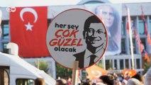 Mazbata kutlaması: İstanbul'da İmamoğlu dönemi başladı