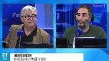 """Herve Brusini sur les 70 ans du JT : """"L'idée du présentateur est venue des Etats-Unis"""""""