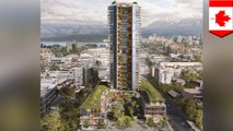 Hybrid wooden skyscraper proposed for Vancouver