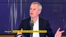 """Si les ministres ne circulent pas ou peu à pied ou à vélo, """"c'est pour des raisons de sécurité"""", explique François de Rugy"""