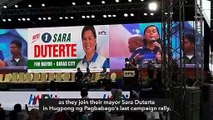 Duterte a no-show at rainy but packed Hugpong miting de avance