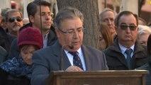El ministro del Interior preside el homenaje a las víctimas de la Casa Cuartel
