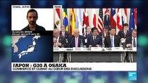 "G20 à Osaka : sommet ""explosif"" sur fond de fractures internationales"